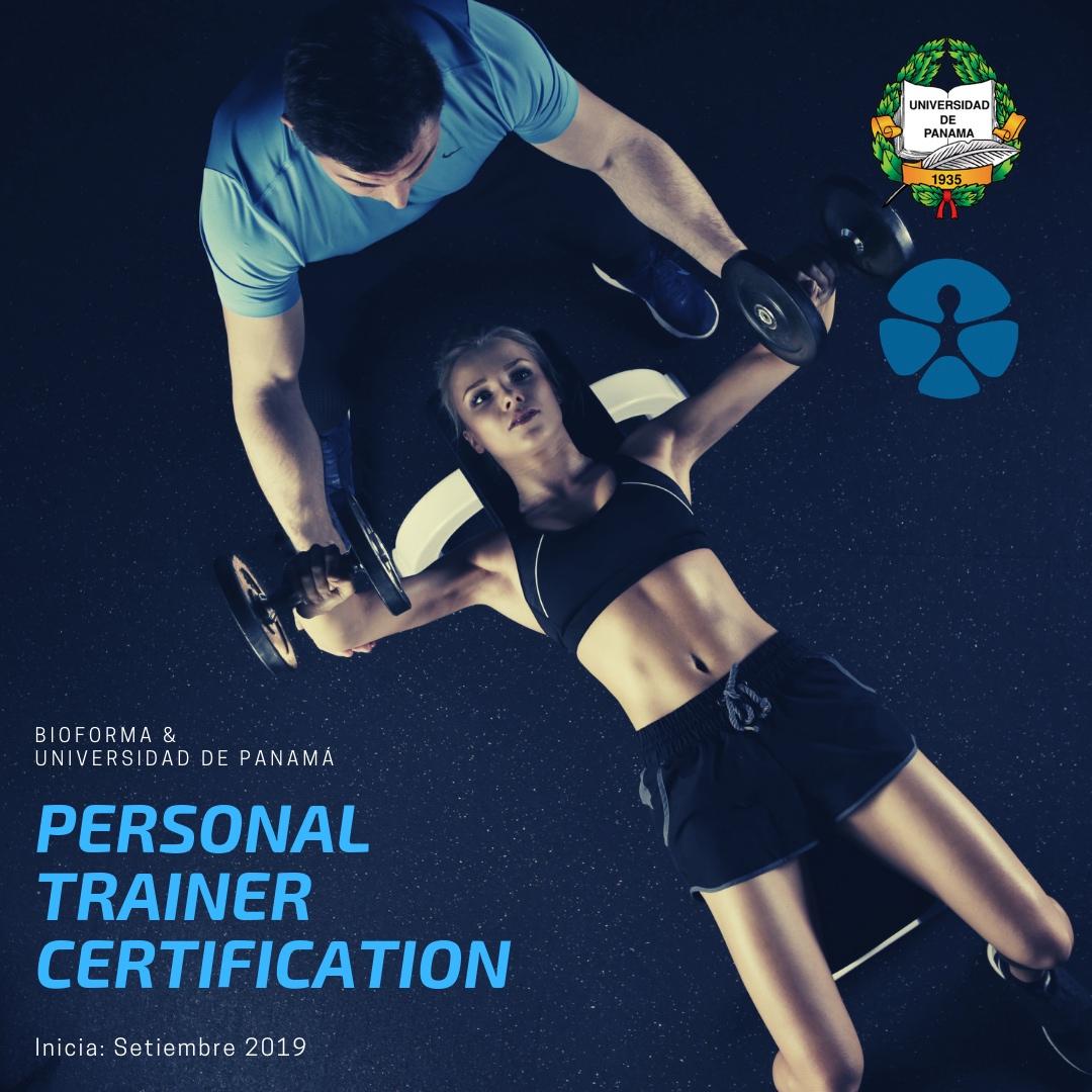 Personal Trainer (Diplomado) Universidad de Panamá