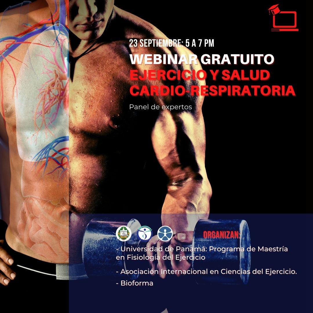 Webinar: Ejercicio y Salud Cardio-Respiratoria.